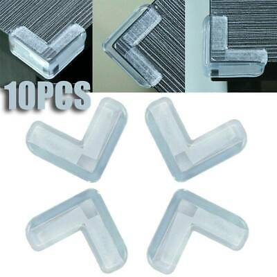 10Pcs Child Baby Safety Silicone Protector Table Corner Edge Protection Covers