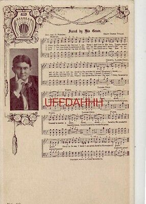 pre-1907 SAVED BY HIS GRACE- Words: Rev Geo O Webster Music: Grant Colfax Tullar