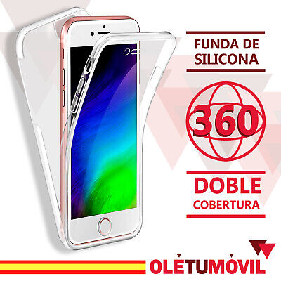 Funda 360 Iphone 6/6s/6 Plus/7/7Plus/8/8 Plus Doble Capa Silicona Oletumovil