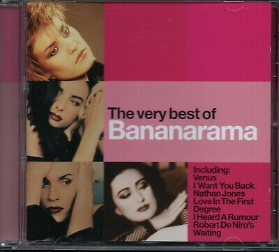 BANANARAMA - The Very Best Of - CD Album *Greatest Hits**Collection**Singles*