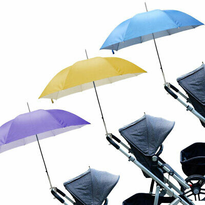 Baby Parasol Universal Umbrella Sun Shade Canopy Pushchair Pram Buggy Push Chair