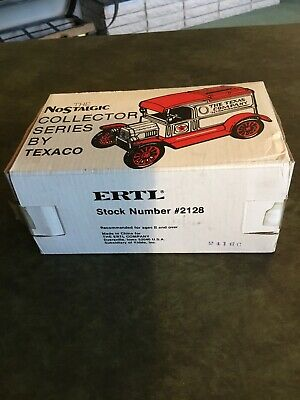 Texaco 1913 Model T Van Bank die-cast the Nostalgic Collector series By ERTL