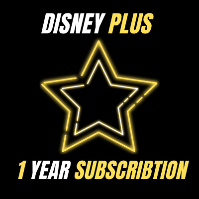 ⭐ Disney plus ⭐ 1 year subscription ⭐ fast delivery ⭐