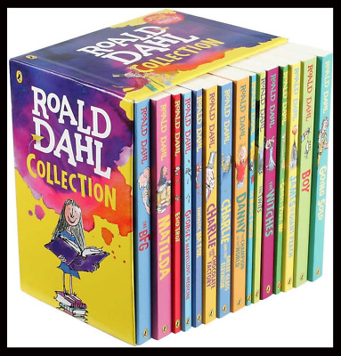 Roald Dahl Collection 15 Paperback Books Classic Kids Gift  (E-B0K&||E-MAILED||