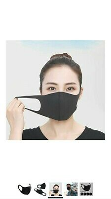 Reusable Washable Breathable Protection Anti-Virus Face Mask Black