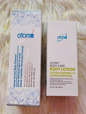 1 body cleanser and 1 body lotion.