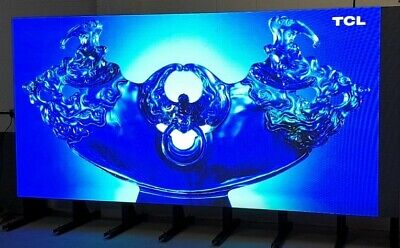 Indoor High Bright P3 LED Screen on freestanding floor frame -W4032 x H1920mm
