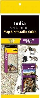 India Adventure Set: Map & Naturalist Guide by National Geographic Maps,Press, W