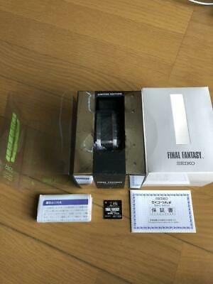 FINAL FANTASY Watches Seiko  model Men's wl7652 Limited Edition