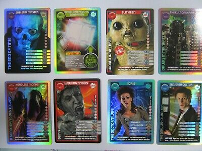 Dr Who Monster Invasion, Extreme and Ultimate Choose Ultra Rare card new