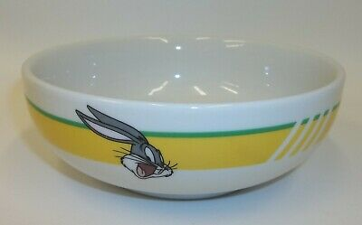 Vtg 1998 Looney Tunes Gibson Bugs Bunny Cereal Soup Bowl