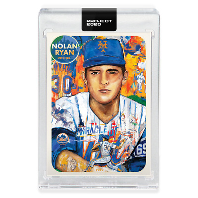 Topps Project 2020 Nolan Ryan #67 1969 New York Mets #533 Andrew Thiele Pre Sale