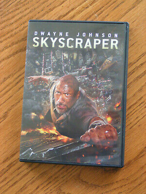 Skyscraper DVD  with Dwayne Johnson Preowned