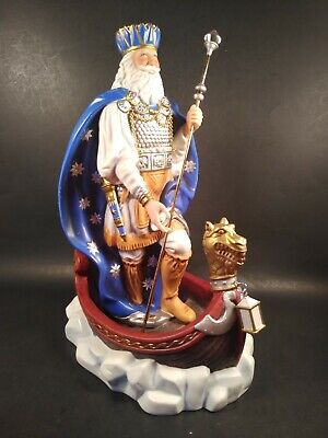 """Noble """"Mystical Father Christmas"""" Statue IOB"""