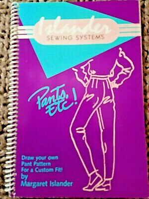 ISLANDER Sewing PANTS, ETC.!  Custom Fit 1991 spiral 66pg spiral book & flyer