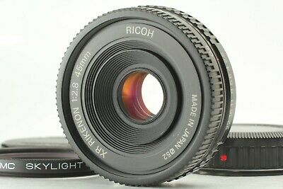 [NEAR MINT] Ricoh XR Rikenon 45mm f/2.8 MF Pancake Lens from Japan #039
