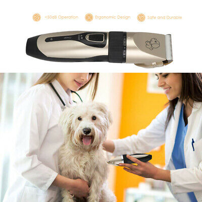 USB Electric Pet Cat Dog Grooming Clippers Hair Trimmer Shaver Quiet Cordless