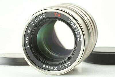 【Mint】 Contax Carl Zeiss Sonnar T* 90mm F/2.8 for G1 G2 Lens From Japan
