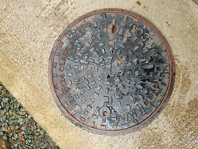 Inspection Chamber Round Cast Iron by Hepworth Manhole Cover & Frame