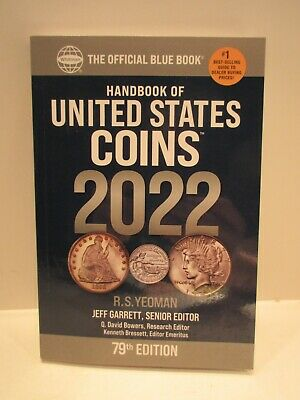2021 Blue Book Handbook of United States Coins 78th ed. Softcover R.S. Yeoman