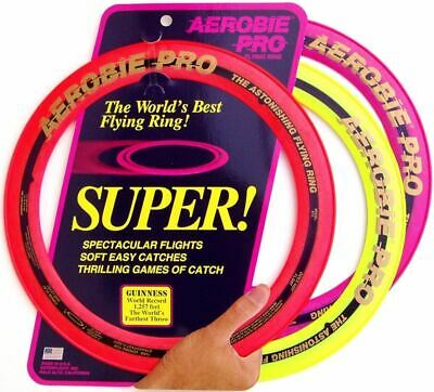 Aerobie Pro Flying Ring in Assorted Colours - Soft Easy Catches - 33cm