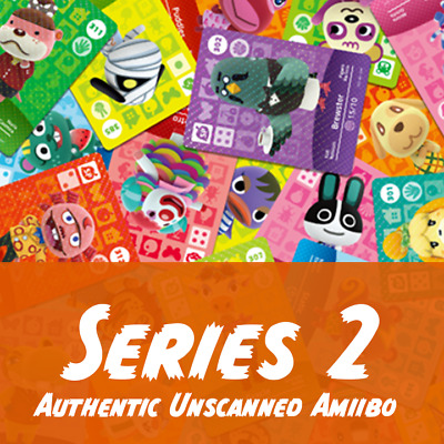 Animal Crossing Amiibo Cards | Series 2 | Authentic Unscanned
