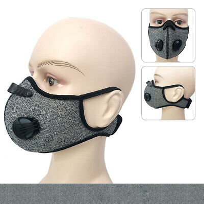 Outdoor Cycling Air Purifying Half Face Ma SK Cover Haze Fog Mouth Filter