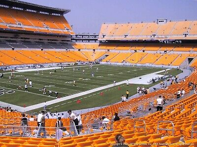 2 TICKETS CINCINNATI BENGALS @ PITTSBURGH STEELERS 11/15 *Sec 105 Row P*