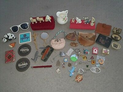 Job Lot of Vintage Collectables, Curios, House Clearance, Car Boot