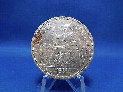 1888 Piastre Silver Coin French Indochine Vietnam