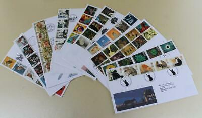 GB 1995 FIRST DAY COVER STAMPS x10 FDC COLLECTION ROYAL MAIL COMMEMORATIVE (e)17