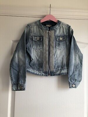 Next Girls Denim Jacket 8 Years