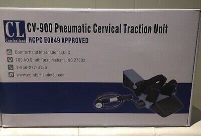 Cv-900 Pneumatic Cervical Traction Unit New In The Original Box