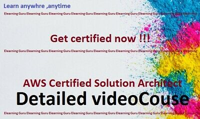 AWS Certified Solution Architect detailed Video Training course