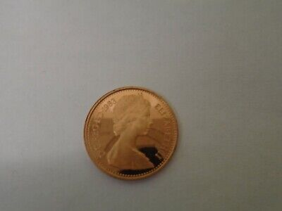 UK PROOF Decimal Half Penny 1/2p Pence Coin 1983
