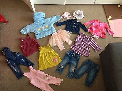 Baby Girls Big Bundle Ted Baker Next And More Size 6-9m