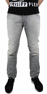 Jeans jean Diesel KROOLEY 887Q 0887Q neuf gris,new with tags