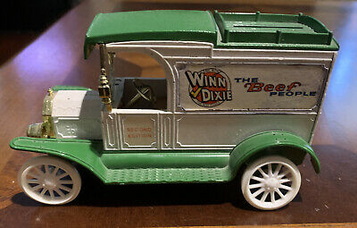 ERTL WINN DIXIE The Beef People 1913 Model T Delivery Bank- 1/25 SCALE DIECAST