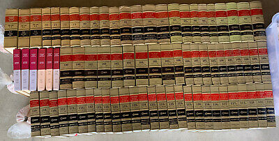 Lot of 77 Vintage Law Books West's Supreme Court Reporter 1948-2001