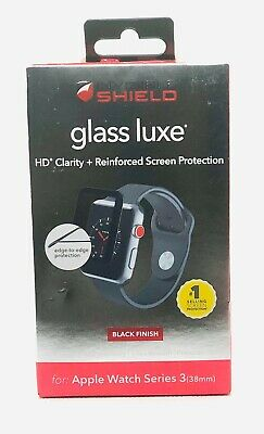 Zagg InvisibleShield Glass LX Screen Protector Apple Watch (42mm) Series 3