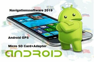 Europa Navigationssoftware Next Generation-2019 16 GB Micro SD-Karte für Android