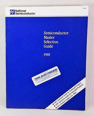 1988 National Semiconductor Master Selection Guide