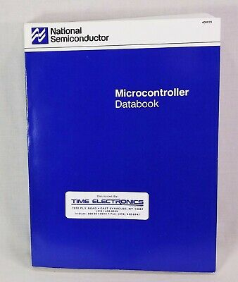1989 National Semiconductor Microcontroller Databook