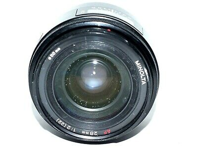 Minolta AF 28mm f/2 (22) A Mount Lens for Sony and Minolta  From Japan