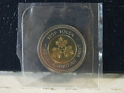 2006 Canada Two Dollar Test Token. Sealed From Proof Like Set.