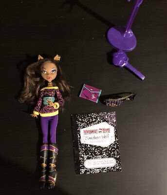 Clawdeen Wolf 2nd Wave Monster High Doll