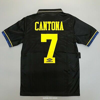 Umbro 1993-1995 Away  Football Jersey Shirt Cantona #7