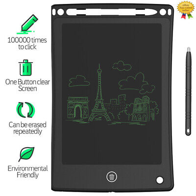 "8.5"" LCD Tablet Portable Writing Pad E-writer Graphic Kid DIY Drawing Work Board"