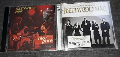 Fleetwood Mac - 2 CD ALBUMS (3 Discs) The Very Best Of 2009 / Greatest Hits 1989