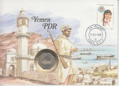 Coin - Letters from all over the World - Yemen